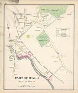 Dover - Ward 4B, New Hampshire State Atlas 1892 Uncolored